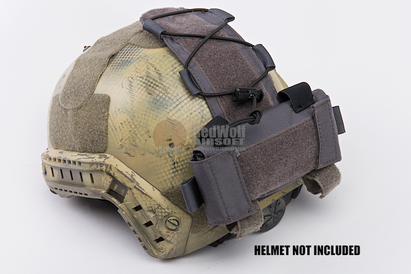 TMC MK1 Battery Case for Helmet - Wolf Grey
