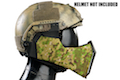 TMC MANDIBLE For OC Highcut Helmet - GreenZone