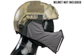 TMC MANDIBLE For OC Highcut Helmet - Wolf Grey