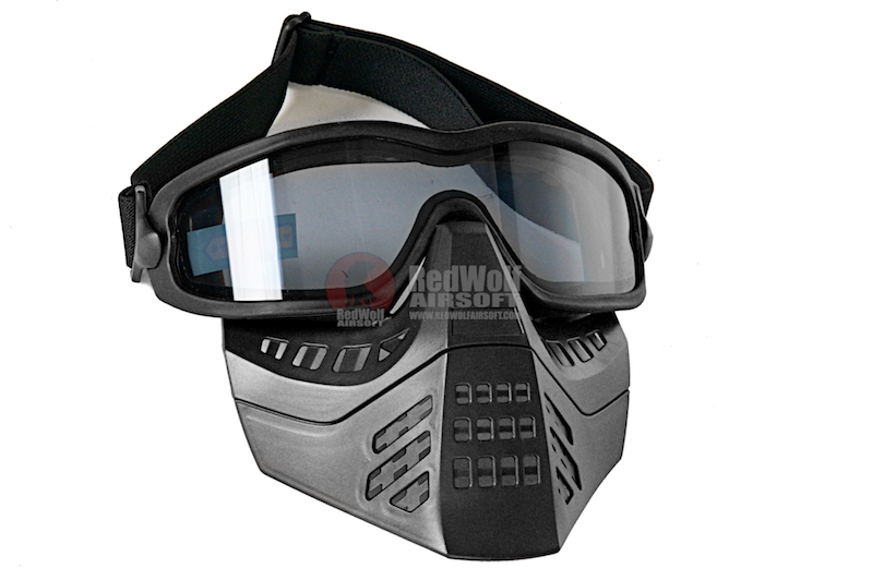 TMC Impact-rated Goggle with Removeable Mask - Black