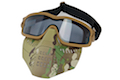 TMC Impact-rated Goggle with Removeable Mask - Multicam