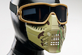 TMC Impact-rated Goggle with Removable Airsoft Mask - Multicam