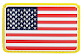 TMC PVC Patch - USA Flag