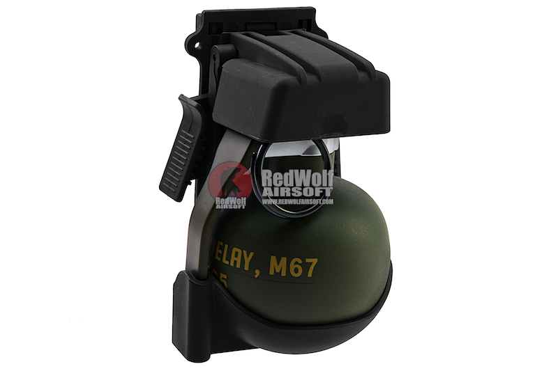 TMC QD M67 Gren Pouch with Dummy - Black