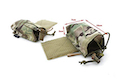 TMC SS Radio Side Pouch Set - Multicam