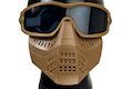 TMC Impact-Rated Goggle with Mask - CB