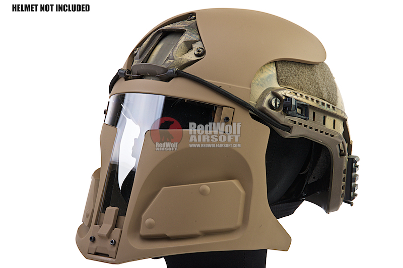 TMC Tier None LT R500 Plastic Mask - CB