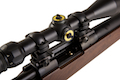 Tanaka U.S.M.C.M40 with Scope 3-9 x 40 With High Mount Ring Set - Gas Version