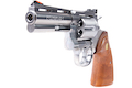 Tanaka Colt Python .357 Magnum R-Model 4 Inch Stainless Gas Revolver - Silver