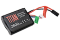 Titan Power 11.1v 2600mah Brick Tamiya Lithium Ion Battery