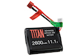 Titan Power 11.1v 2600mah Brick Deans Lithium Ion Battery