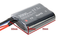 Titan Power 11.1v 3000mah Brick Deans Lithium Ion Battery (V7)