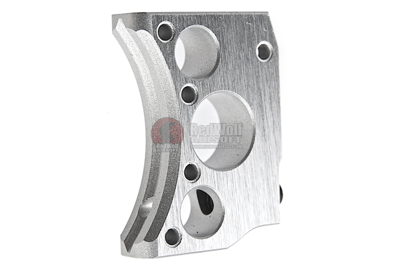 Airsoft Masterpiece Aluminum Trigger (Type 12) for Tokyo Marui  Hi-Capa GBB - Silver