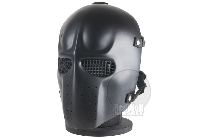 RWL Airsoft Elliot Plain Mask- Black