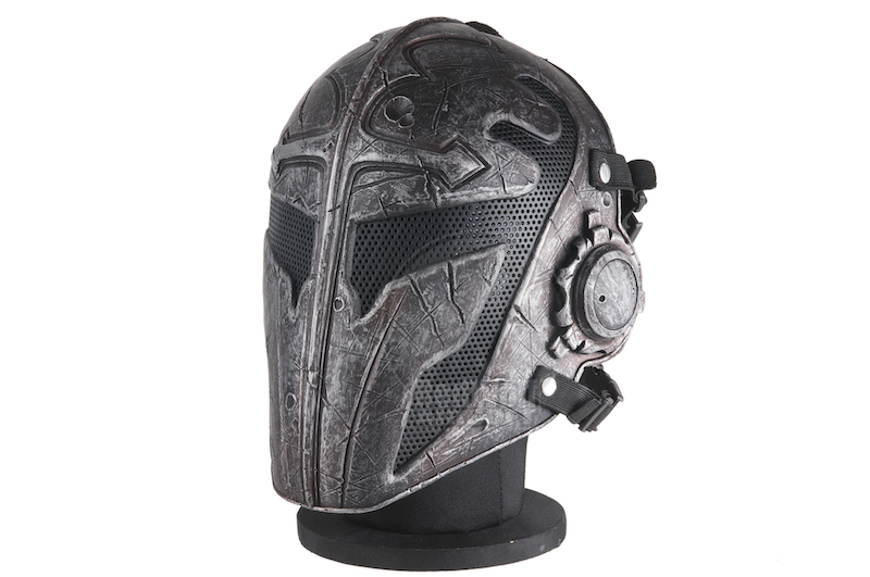 RWL Airsoft Templar Mask - Black