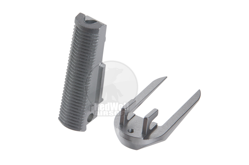 TSC CNC Aluminum Main Spring Housing With Magwell For Marui 1911 (SV)