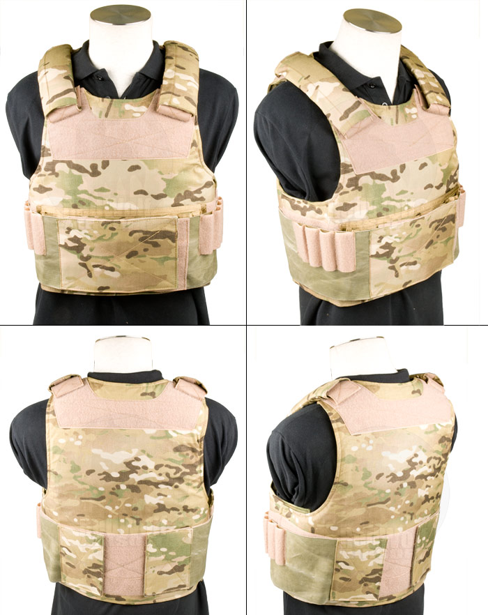 Toy Soldier Mid Threat Body Armor/Plate Carrier (Medium / MC)