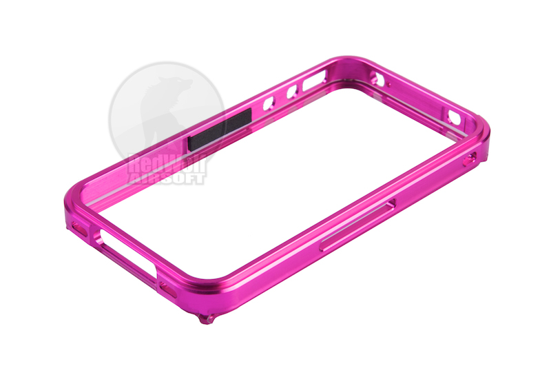 TSC Blade CNC Aluminum Case for iPhone 4 (Pink)   <font color=red>(HOLIDAY SALE)</font>