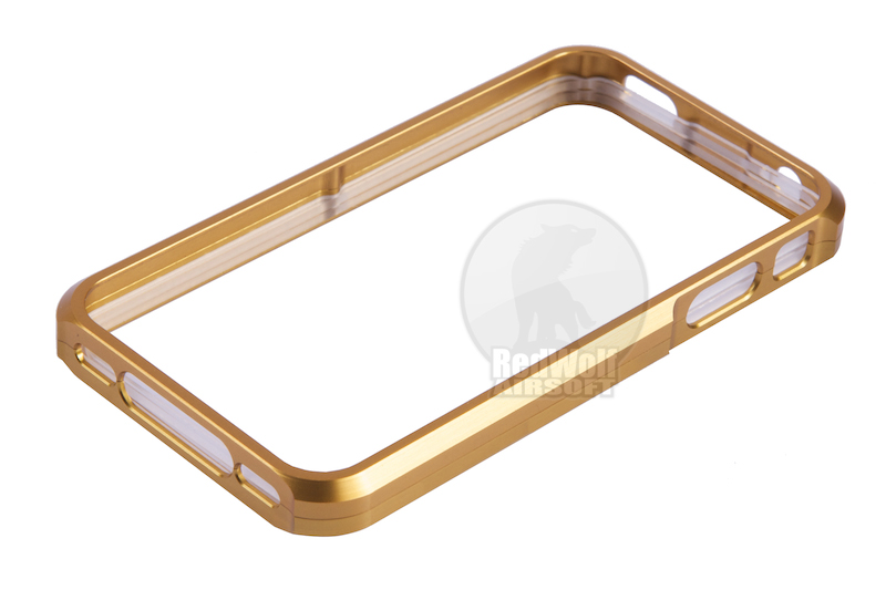 TSC Electron CNC Aluminum Case for iPhone 4 (Gold)