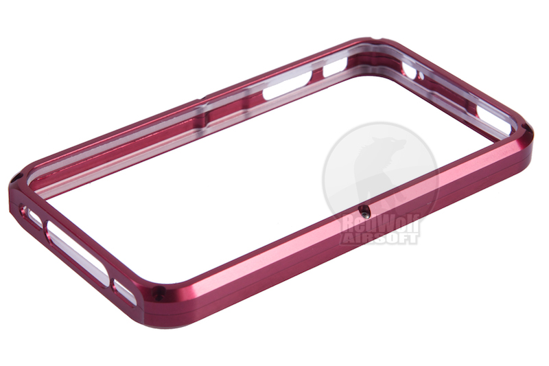 TSC Electron CNC Aluminum Case for iPhone 4 (Red) <font color=yellow>(Clearance)</font>