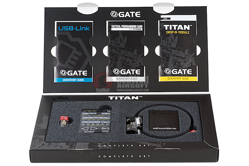 GATE TITAN V2 Complete Set (Rear Wired)