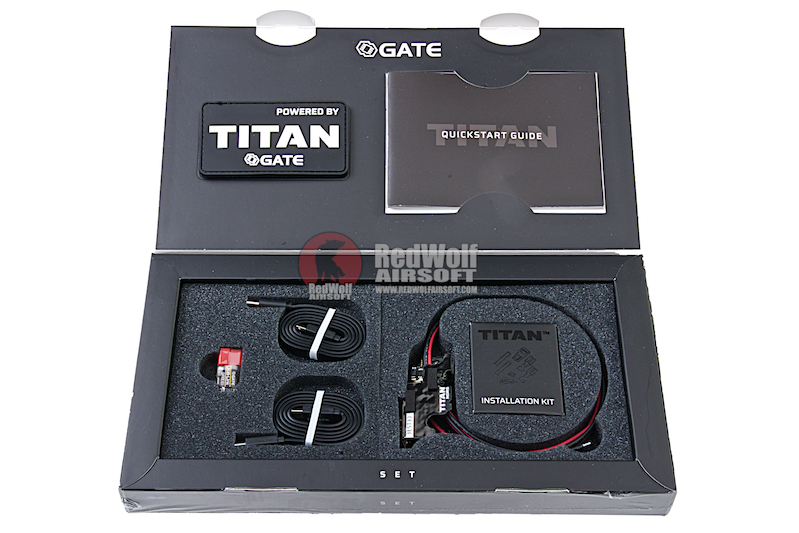 GATE TITAN V2 NGRS Advance Set (Rear Wired) for Tokyo Marui Next Generation Series (TTN4-ASR2)