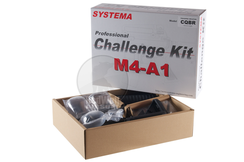 Systema PTW Challenge Kit M4-A1 CQBR Evolution (M90 Cylinder)  <font color=red>(Free Shipping Deal)</font>