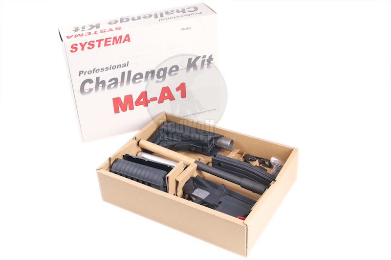 Systema PTW Challenge Kit CQBR SUPER MAX Evolution (M165 Cylinder) <font color=red>(Free Shipping)</font>