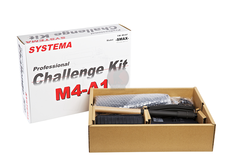 Systema PTW Challenge Kit M4-A1-SUPER MAX Evolution Fixed Stock-Version (M165 Cylinder) <font color=red>(Free Shipping Deal)</font>