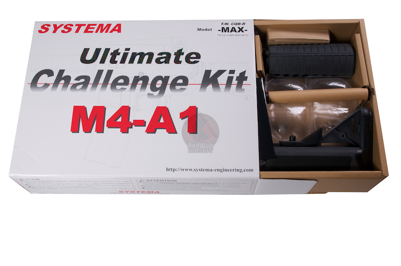 Systema Ultimate Challenge Kit CQBR-MAX3 (M130) 2012