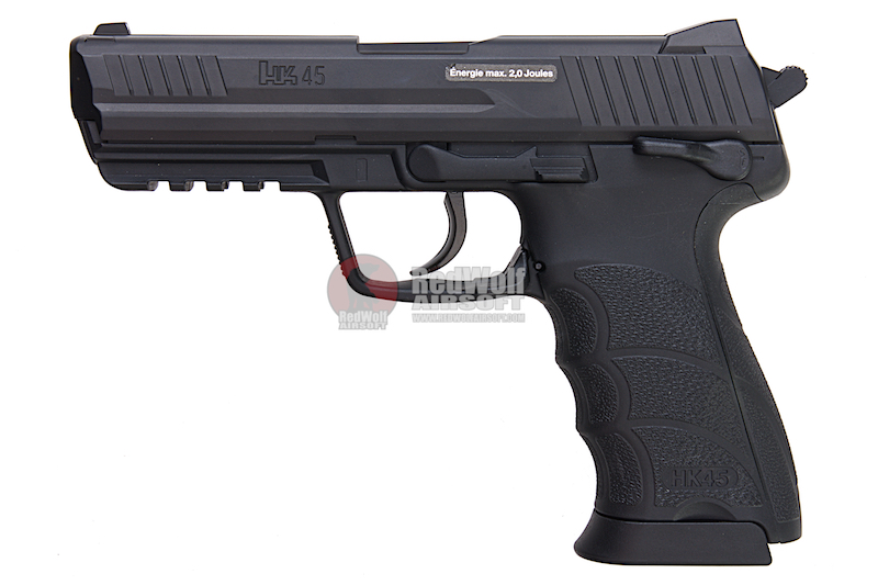 Umarex H&K HK45 (Fixed Slide) 6mm CO2 Non-Blowback Version (by WinGun)