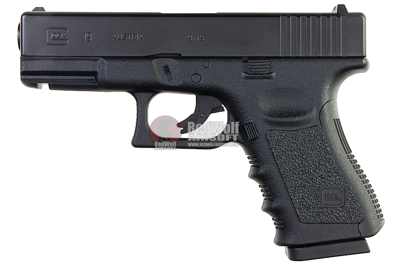 Umarex Glock 19 Co2 Fixed Slide (by Wingun) - 6mm Version