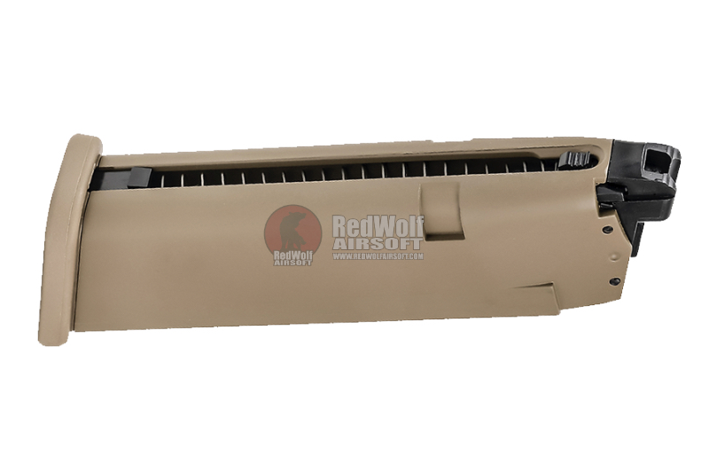 Umarex 22rd Magazine for Gas Blowback Glock 19X (by VFC)<font color=red>(ETA 02 OCT 2020)</font>