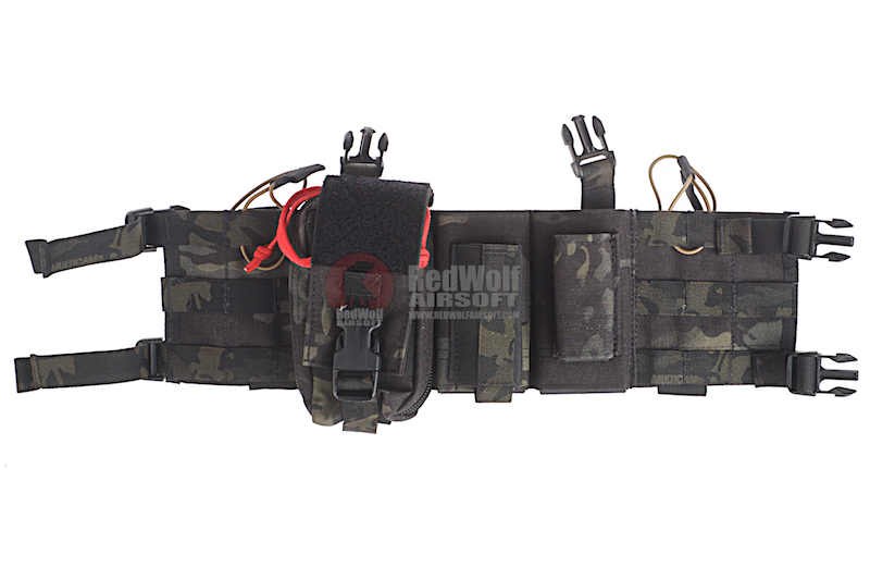 Verrett's Tactical VerTac Wingman Chest Rig - Multicam Black