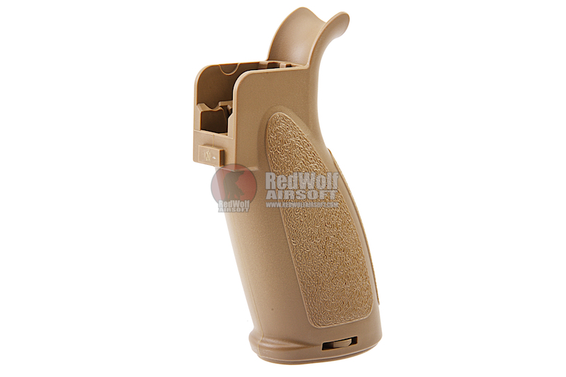 VFC Palm Guarded Grip for Umarex / VFC HK417 / G28 AEG Series - Tan (RAL8000)