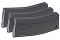 VFC 120rds Mid Cap Magazine for SCAR-L / M4 AEG (3pcs / Set) - Black
