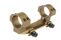 VFC CNC Knight One Piece Dual Ring Scope Mount - Tan