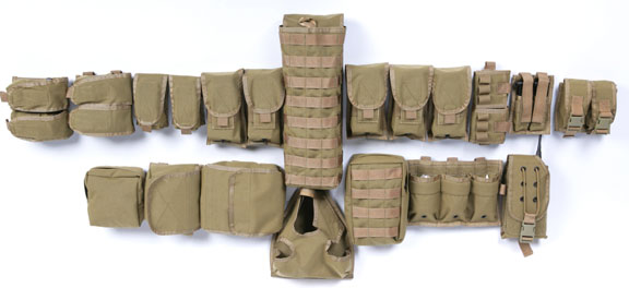 Pantac Pouch Kit Set for RAV (Khaki / CORDURA)
