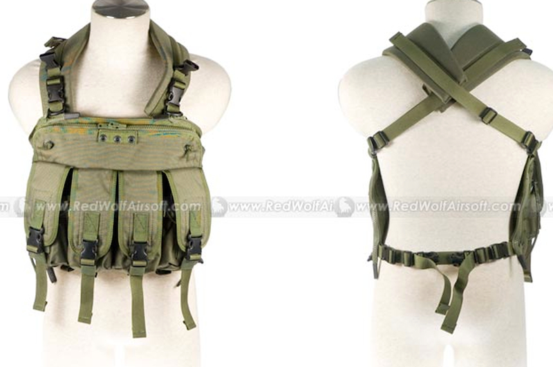 PANTAC Commander V3 Chest Harness (OD / Cordura)