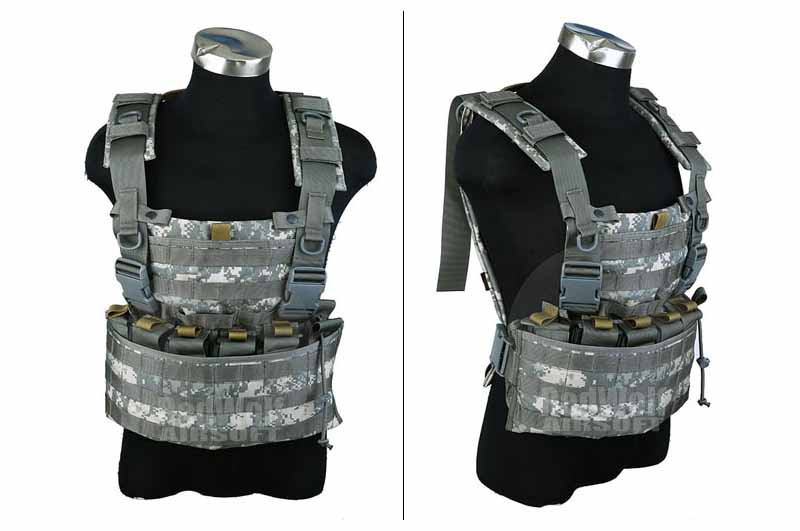 PANTAC WASATCH Chest Rig (Medium / ACU / Cordura) <font color=red> (Clearance)</font>