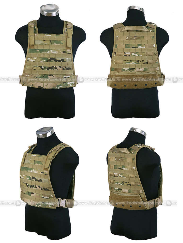 PANTAC MBSS Plate Carrier (Crye Precision Multicam / CORDURA) <font color=yellow>(Clearance)</font>