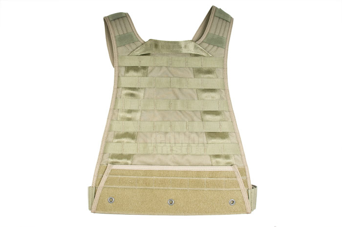 PANTAC MBSS / RRV Molle Back Plate (RG / Cordura) <font color=yellow>(Clearance)</font>