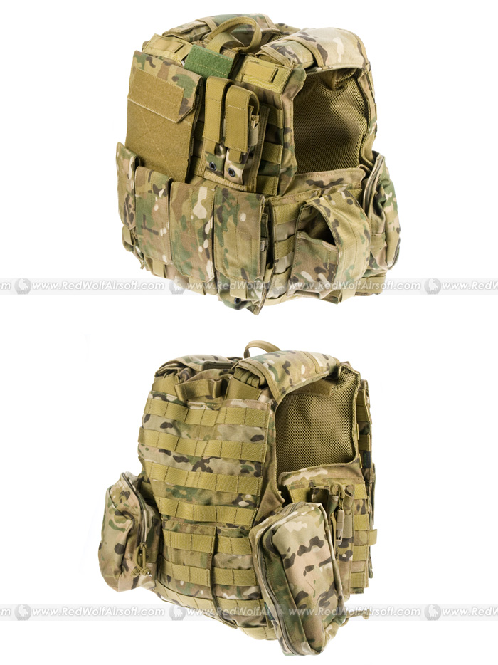 PANTAC Force Recon Vest Mar (Crye Precision Multicam / Medium / CORDURA)