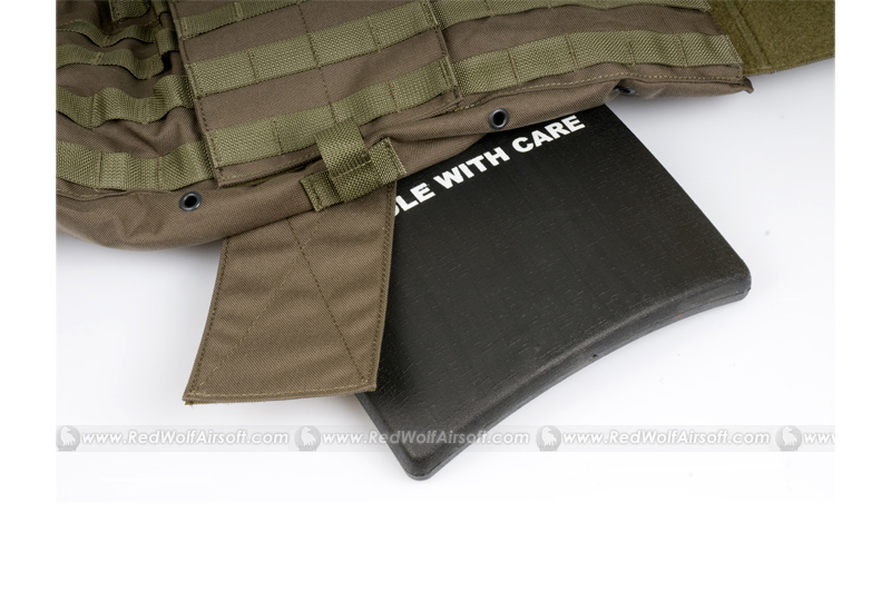 PANTAC Force Recon Vest Mar without Pouches (RG / Medium / CORDURA)