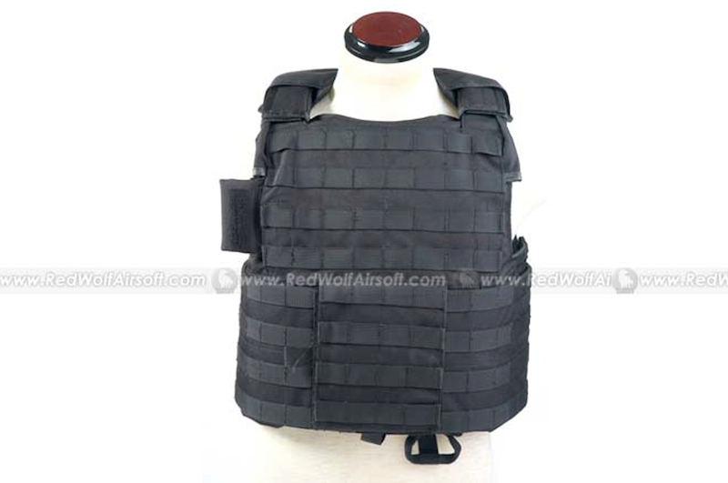 PANTAC Force Recon Vest Land (Black / M / CORDURA)