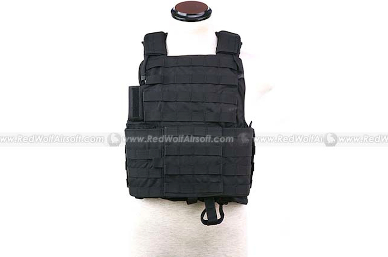 PANTAC Force Recon Vest Land (Black / Small / CORDURA)
