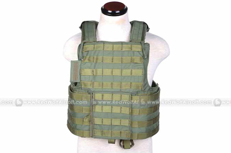 PANTAC Force Recon Vest Land (OD / M / CORDURA)