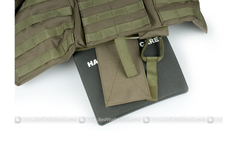 Pantac Land CRS* with Dummy Plates (Small / RG / Cordura)