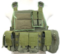 PANTAC Molle Style PC Plate Carrier (OD / Medium / CORDURA)