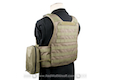 Pantac Molle Style PC Plate Carrier (RG / Small / CORDURA)